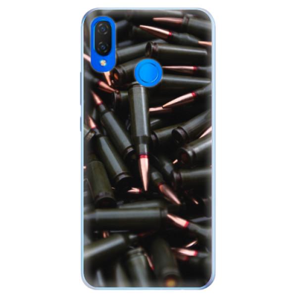 Silikonové pouzdro iSaprio - Black Bullet - Huawei Nova 3i