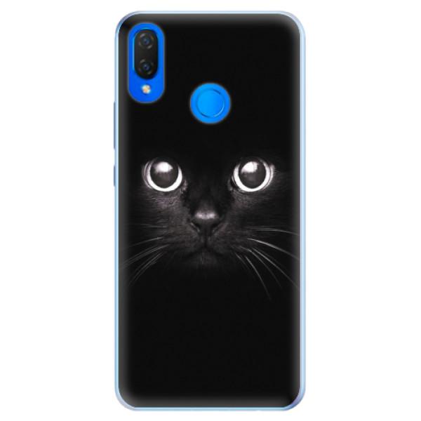 Silikonové pouzdro iSaprio - Black Cat - Huawei Nova 3i