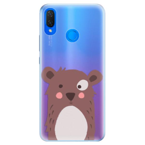 Silikonové pouzdro iSaprio - Brown Bear - Huawei Nova 3i