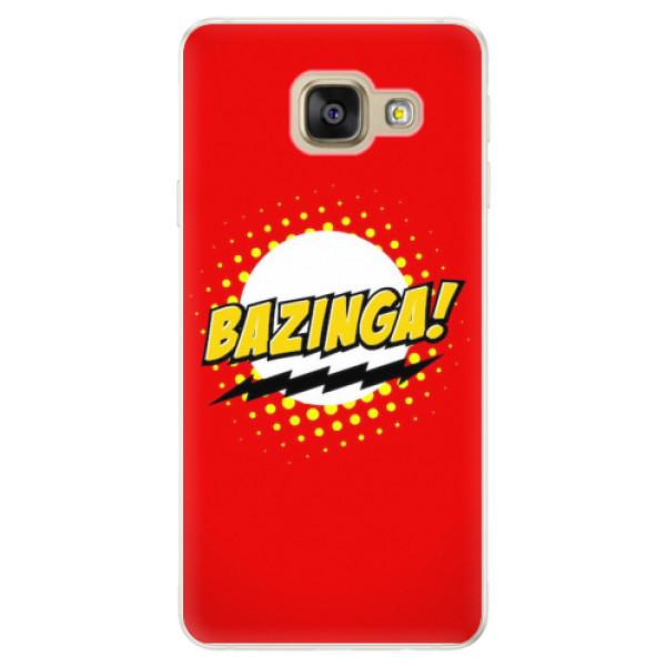 Silikonové pouzdro iSaprio - Bazinga 01 - Samsung Galaxy A5 2016