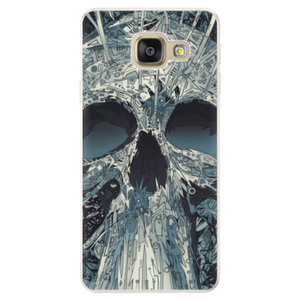 Silikonové pouzdro iSaprio - Abstract Skull - Samsung Galaxy A5 2016