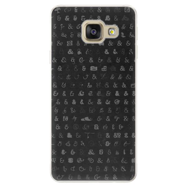 Silikonové pouzdro iSaprio - Ampersand 01 - Samsung Galaxy A5 2016
