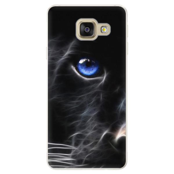 Silikonové pouzdro iSaprio - Black Puma - Samsung Galaxy A5 2016