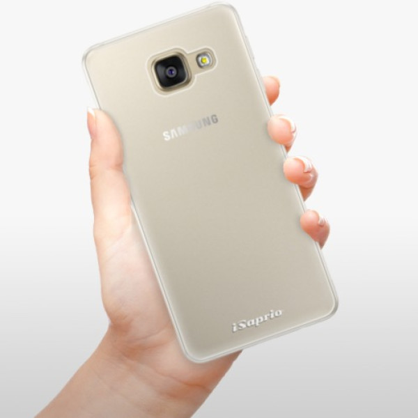 Silikonové pouzdro iSaprio - 4Pure - mléčný bez potisku - Samsung Galaxy A5 2016