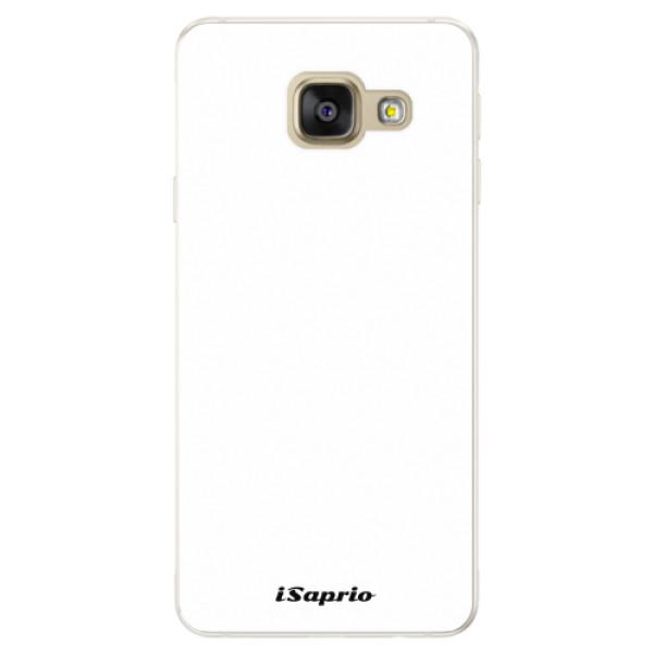 Silikonové pouzdro iSaprio - 4Pure - bílý - Samsung Galaxy A5 2016