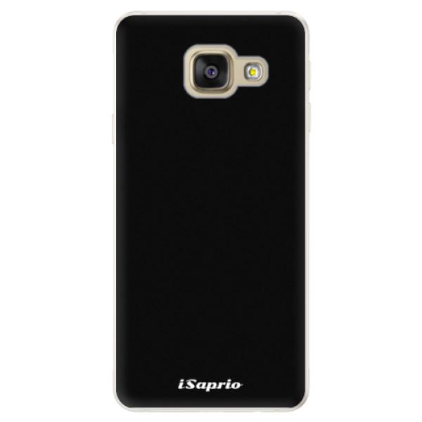 Silikonové pouzdro iSaprio - 4Pure - černý - Samsung Galaxy A5 2016
