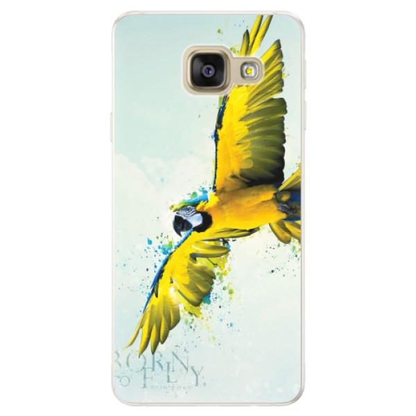 Silikonové pouzdro iSaprio - Born to Fly - Samsung Galaxy A5 2016