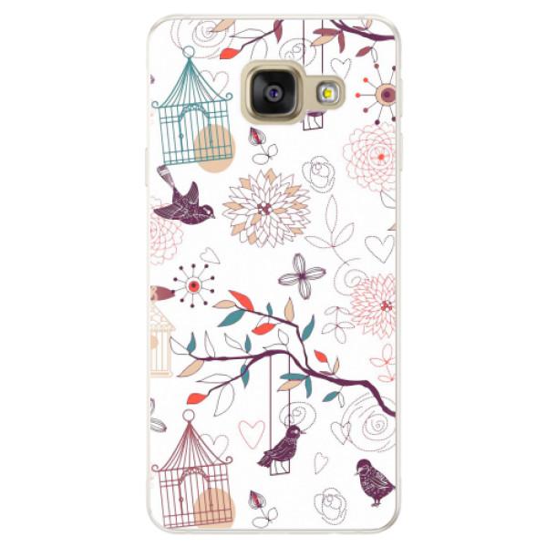 Silikonové pouzdro iSaprio - Birds - Samsung Galaxy A5 2016