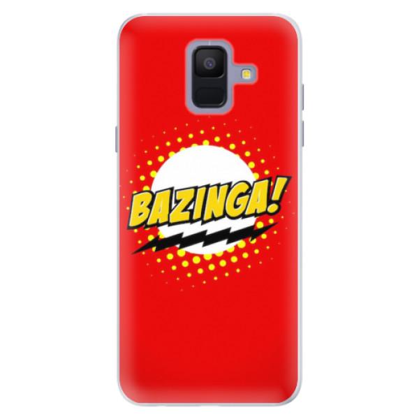 Silikonové pouzdro iSaprio - Bazinga 01 - Samsung Galaxy A6