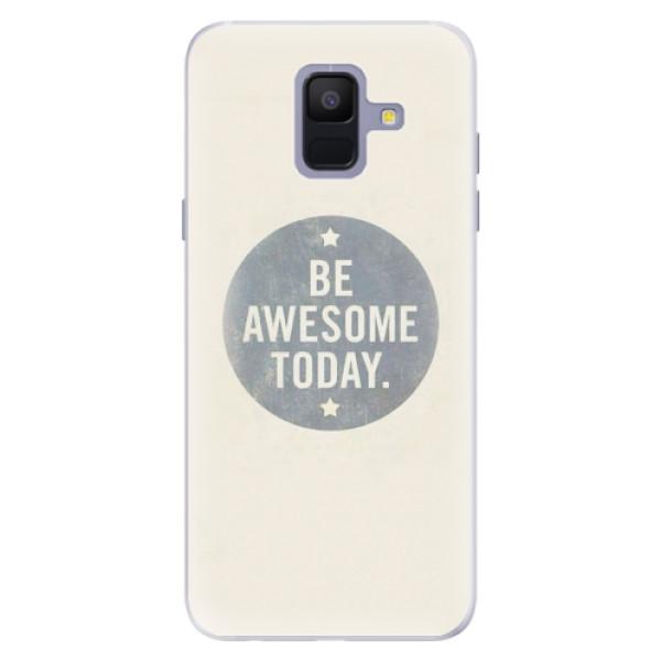 Silikonové pouzdro iSaprio - Awesome 02 - Samsung Galaxy A6
