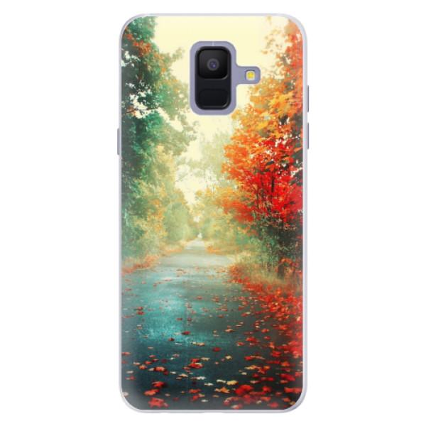 Silikonové pouzdro iSaprio - Autumn 03 - Samsung Galaxy A6