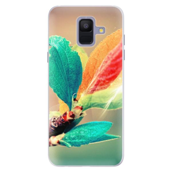 Silikonové pouzdro iSaprio - Autumn 02 - Samsung Galaxy A6