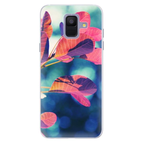Silikonové pouzdro iSaprio - Autumn 01 - Samsung Galaxy A6