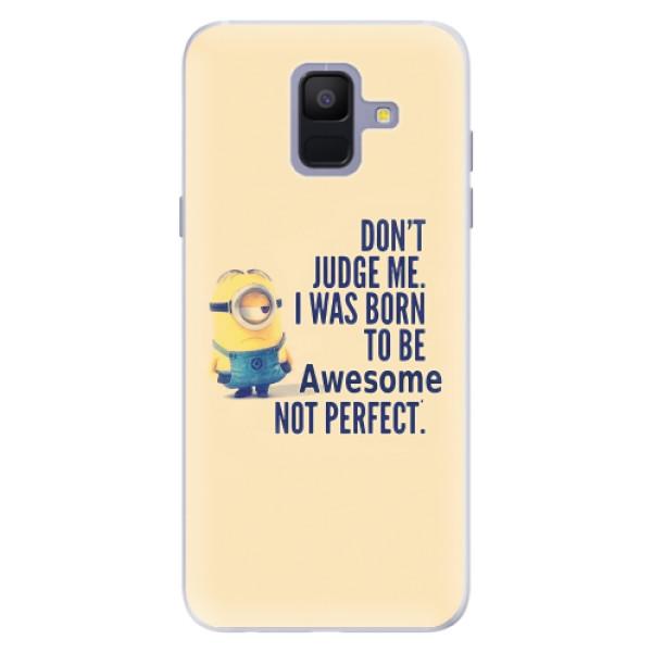 Silikonové pouzdro iSaprio - Be Awesome - Samsung Galaxy A6