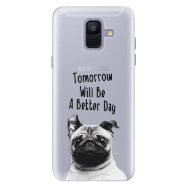 Silikonové pouzdro iSaprio - Better Day 01 - Samsung Galaxy A6
