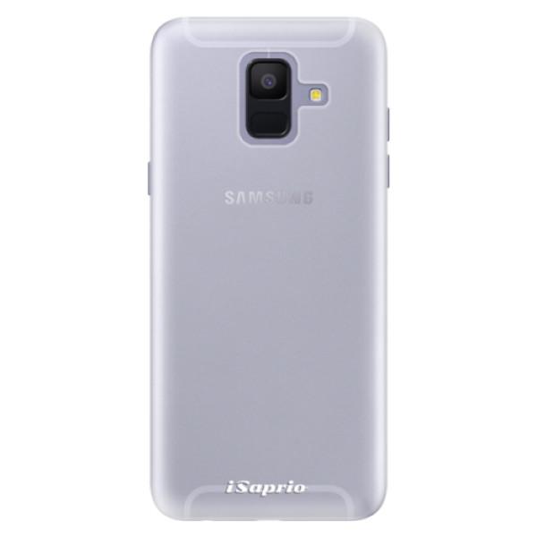 Silikonové pouzdro iSaprio - 4Pure - mléčný bez potisku - Samsung Galaxy A6