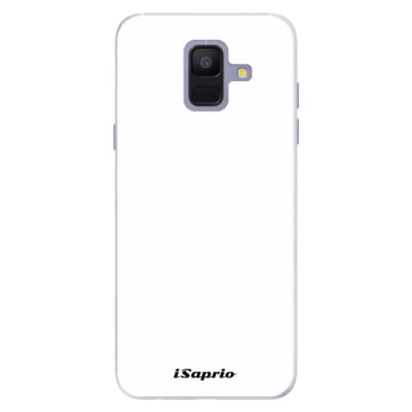 Silikonové pouzdro iSaprio - 4Pure - bílý - Samsung Galaxy A6