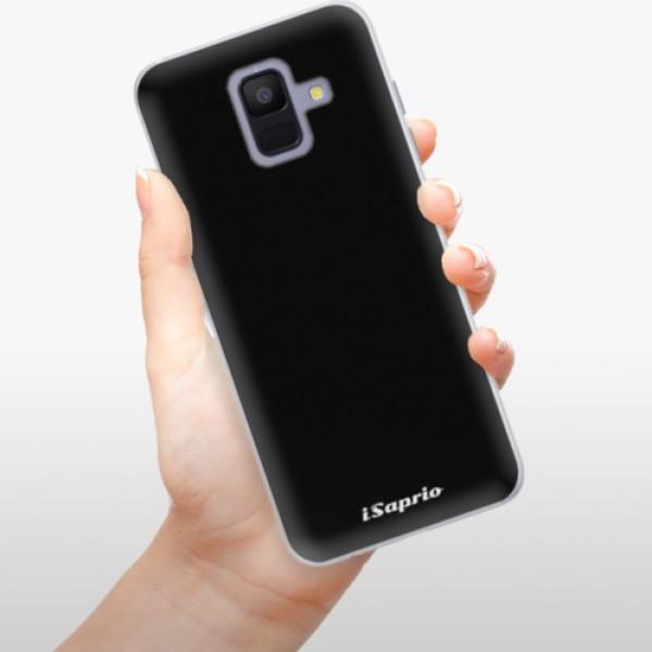 Silikonové pouzdro iSaprio - 4Pure - černý - Samsung Galaxy A6