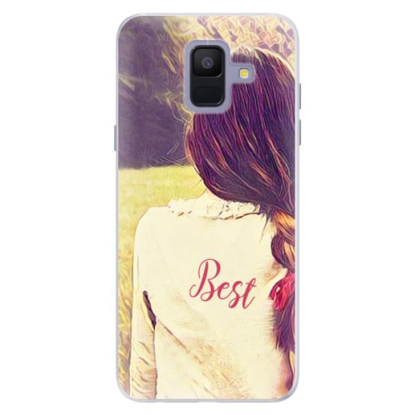 Silikonové pouzdro iSaprio - BF Best - Samsung Galaxy A6