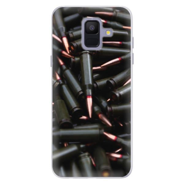 Silikonové pouzdro iSaprio - Black Bullet - Samsung Galaxy A6