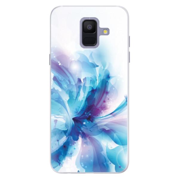 Silikonové pouzdro iSaprio - Abstract Flower - Samsung Galaxy A6