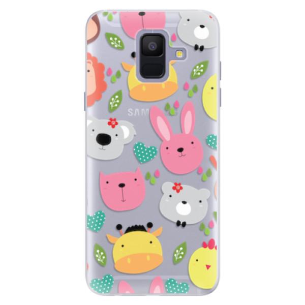 Silikonové pouzdro iSaprio - Animals 01 - Samsung Galaxy A6