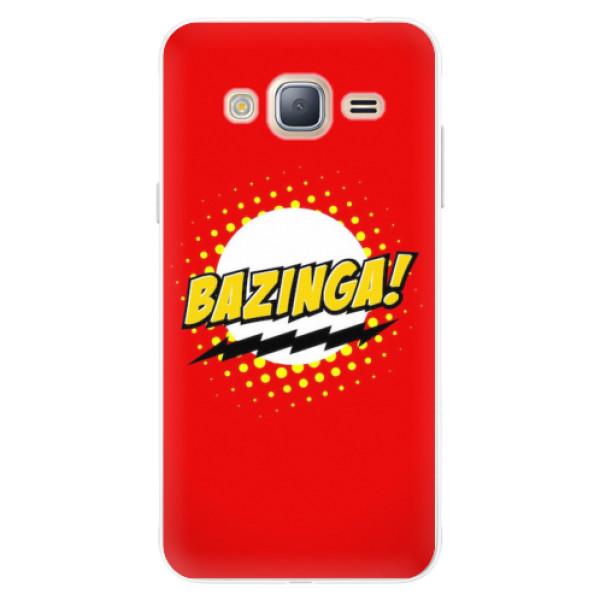 Silikonové pouzdro iSaprio - Bazinga 01 - Samsung Galaxy J3