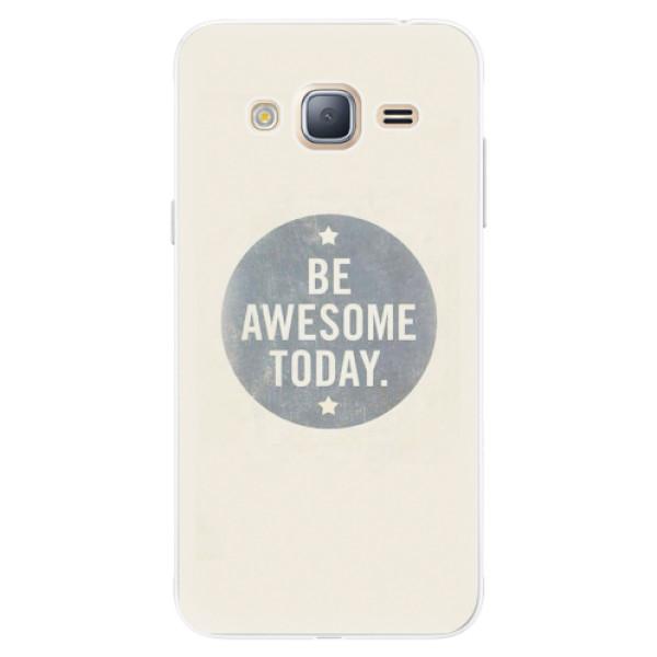 Silikonové pouzdro iSaprio - Awesome 02 - Samsung Galaxy J3
