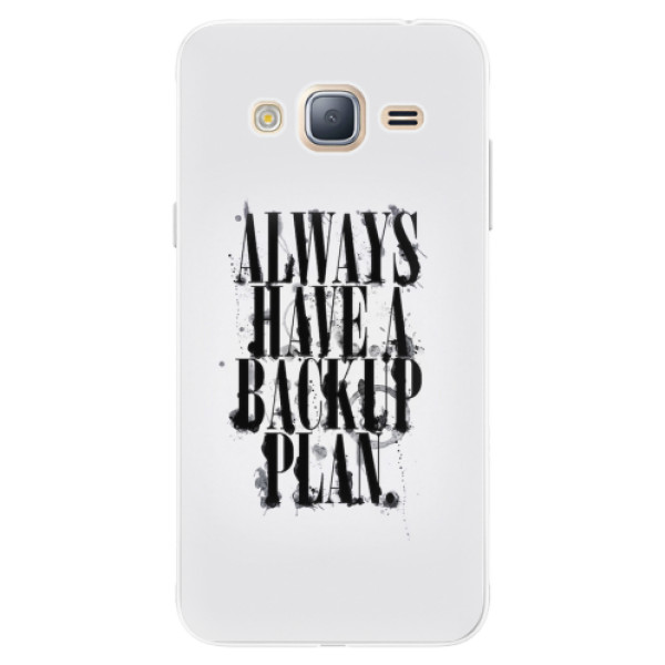 Silikonové pouzdro iSaprio - Backup Plan - Samsung Galaxy J3