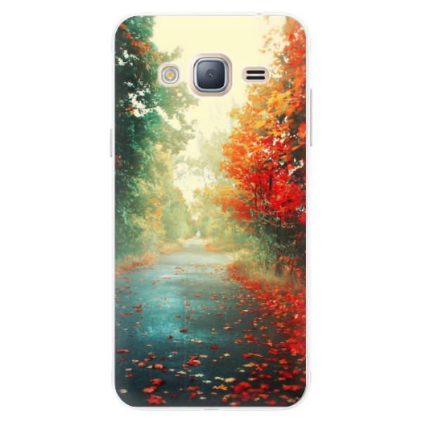 Silikonové pouzdro iSaprio - Autumn 03 - Samsung Galaxy J3