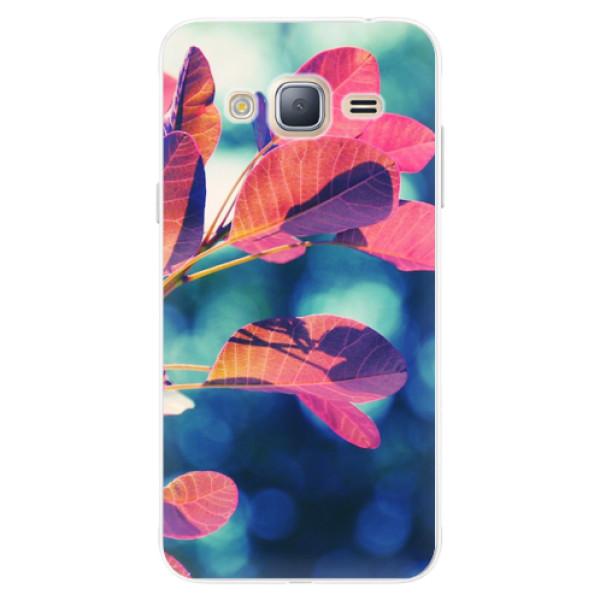 Silikonové pouzdro iSaprio - Autumn 01 - Samsung Galaxy J3