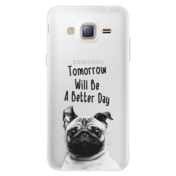 Silikonové pouzdro iSaprio - Better Day 01 - Samsung Galaxy J3