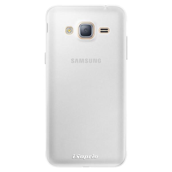 Silikonové pouzdro iSaprio - 4Pure - mléčný bez potisku - Samsung Galaxy J3