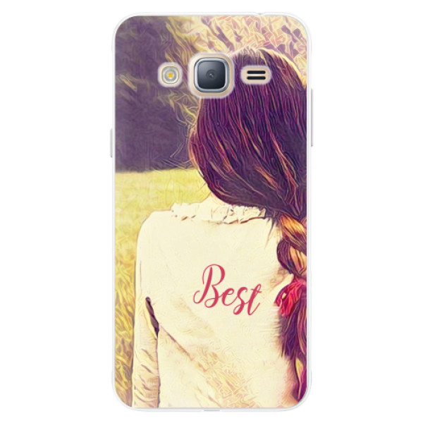 Silikonové pouzdro iSaprio - BF Best - Samsung Galaxy J3