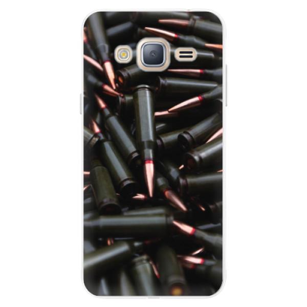 Silikonové pouzdro iSaprio - Black Bullet - Samsung Galaxy J3