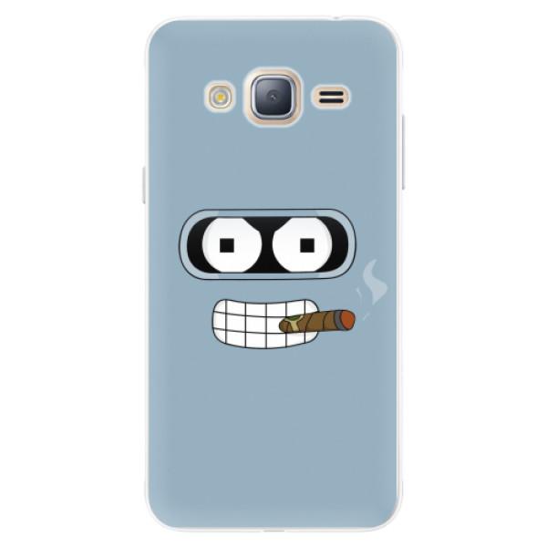 Silikonové pouzdro iSaprio - Bender - Samsung Galaxy J3