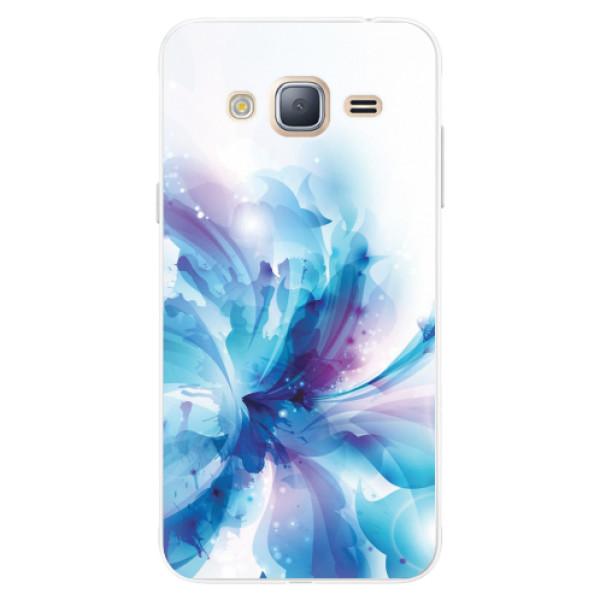Silikonové pouzdro iSaprio - Abstract Flower - Samsung Galaxy J3