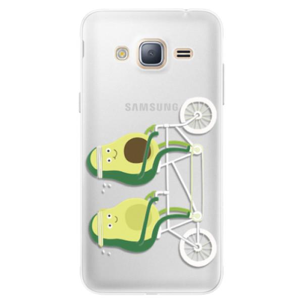 Silikonové pouzdro iSaprio - Avocado - Samsung Galaxy J3