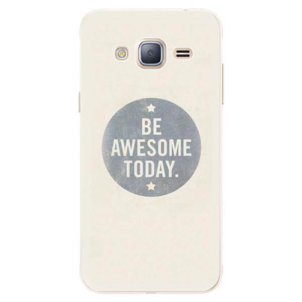 Silikonové pouzdro iSaprio - Awesome 02 - Samsung Galaxy J3 2016