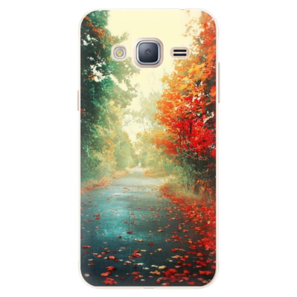 Silikonové pouzdro iSaprio - Autumn 03 - Samsung Galaxy J3 2016