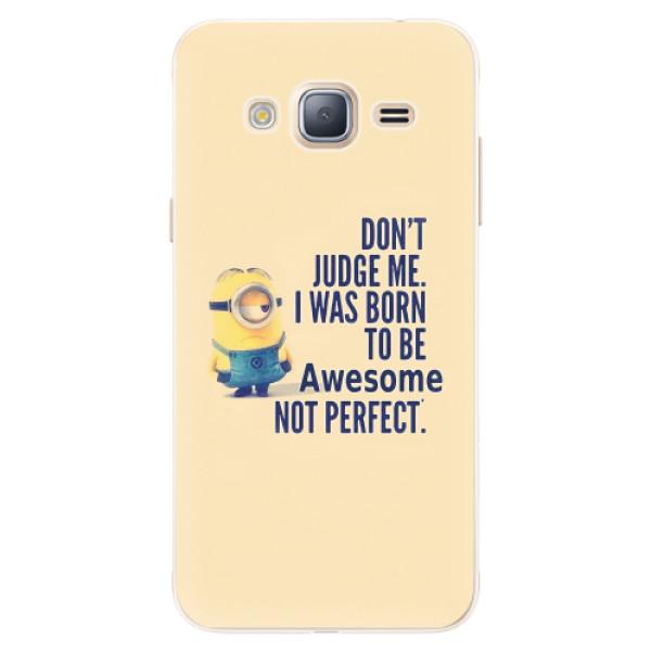 Silikonové pouzdro iSaprio - Be Awesome - Samsung Galaxy J3 2016