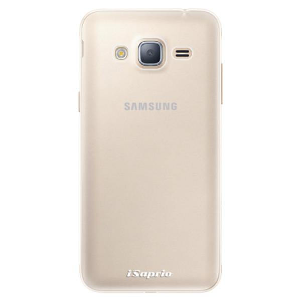 Silikonové pouzdro iSaprio - 4Pure - mléčný bez potisku - Samsung Galaxy J3 2016