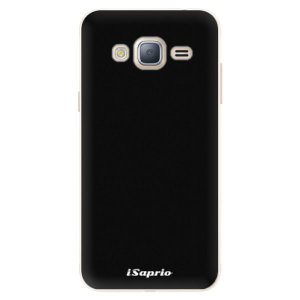 Silikonové pouzdro iSaprio - 4Pure - černý - Samsung Galaxy J3 2016