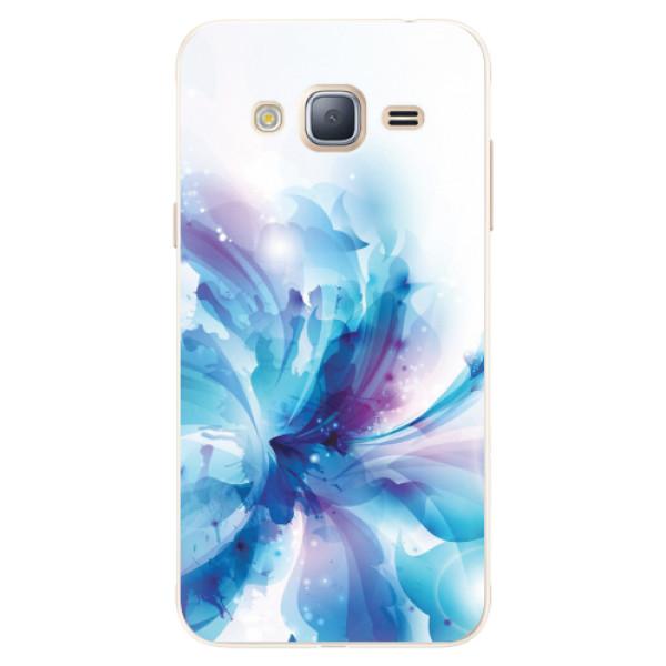 Silikonové pouzdro iSaprio - Abstract Flower - Samsung Galaxy J3 2016