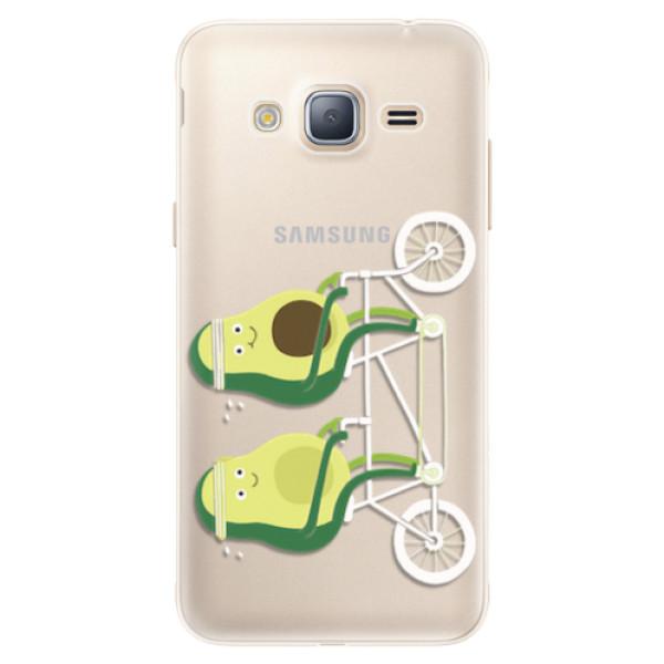 Silikonové pouzdro iSaprio - Avocado - Samsung Galaxy J3 2016