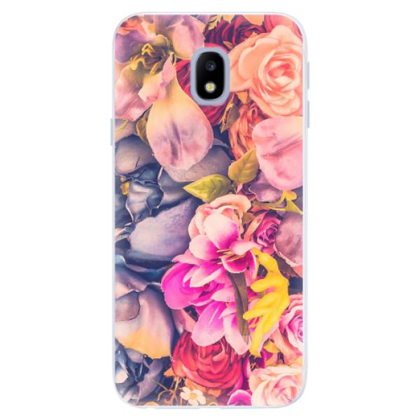 Silikonové pouzdro iSaprio - Beauty Flowers - Samsung Galaxy J3 2017