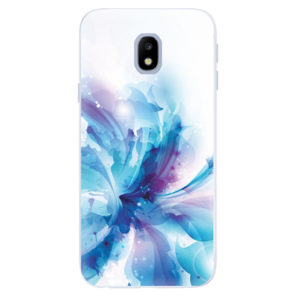 Silikonové pouzdro iSaprio - Abstract Flower - Samsung Galaxy J3 2017