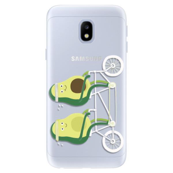 Silikonové pouzdro iSaprio - Avocado - Samsung Galaxy J3 2017