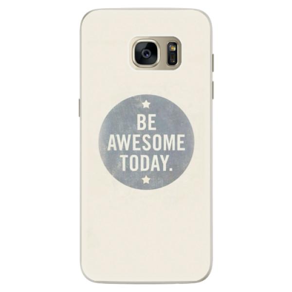 Silikonové pouzdro iSaprio - Awesome 02 - Samsung Galaxy S7