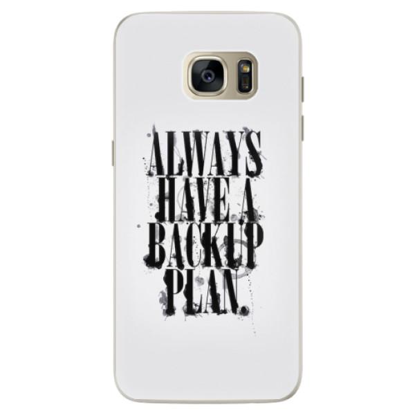 Silikonové pouzdro iSaprio - Backup Plan - Samsung Galaxy S7